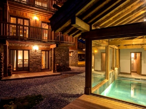 Chalet kalyke to rent in courchevel 1300
