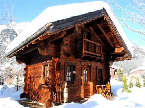 Chalets Chalet pour 3 to rent in Chamonix