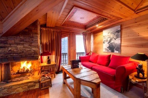 Apartment Sérénité to rent in Courchevel 1850