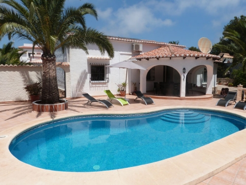 Independent house solaire to rent in javea