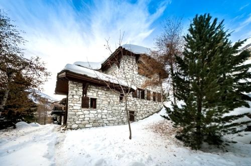 France : MONVA1202 - Val d'Isere chalet pour 12