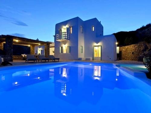 Villa / Maison Mykonos villa pour 16 à louer à Mykonos