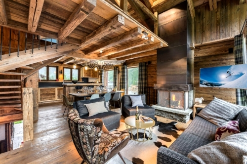 Chalet venus to rent in val d'isère