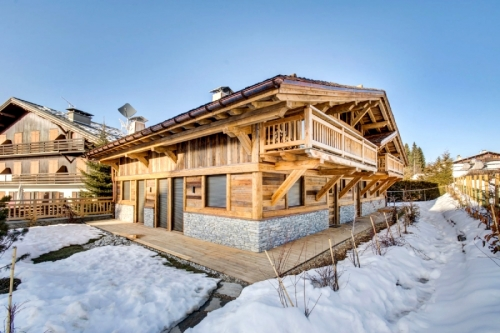 Chalets Titania to rent in Megève