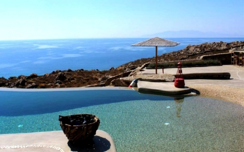 Greece : MYK1010 - L'eau et Pierre