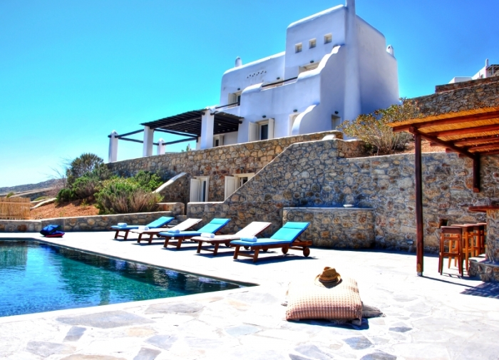 Villa / house Kappas to rent in Agios Sostis, Mykonos
