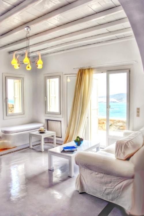 Villa / maison white à louer à agios sostis, mykonos