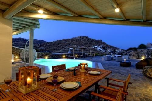 une maison : mykonos