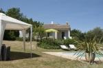 Réserver villa / maison pour 6 à pied du centre du village