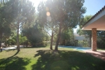 Location saisonnière vue jardin