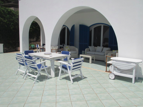 Reserve villa / house bleue