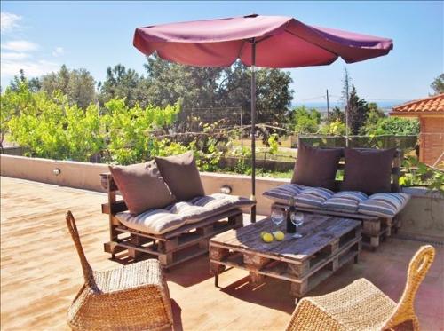 Villa / house la rêveuse to rent in El Papagai