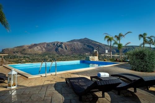 villa à Scopello, vue : mer et montagne