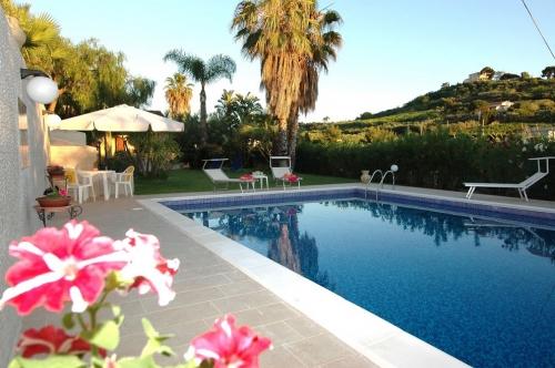 Property villa / house blue