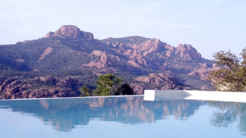 villa in Agay, view : Sea and mountains
