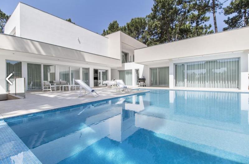 Villa / Maison luxe Blanche Design