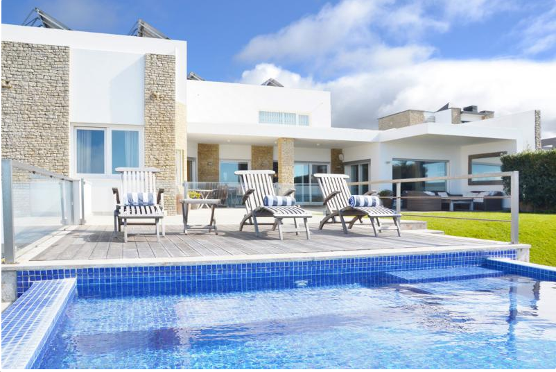 Villa / house blue piscine to rent in sintra