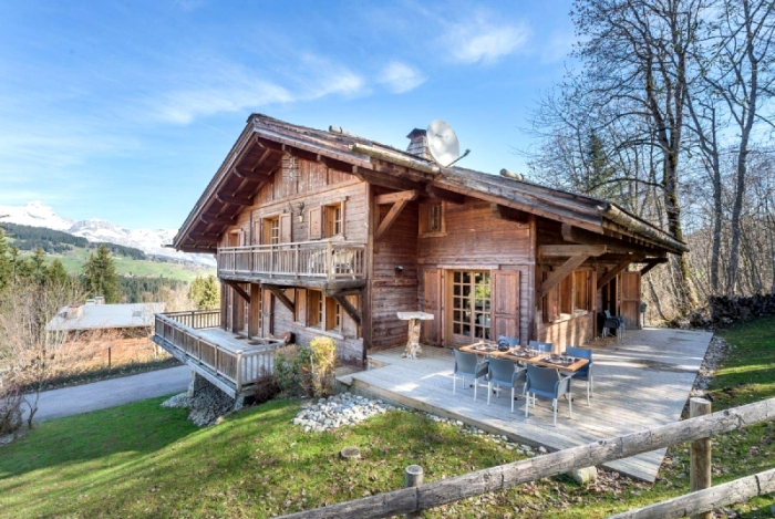 Chalet Methone to rent in Megève