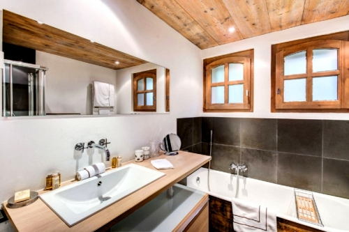 Chalet albiorix to rent in megève