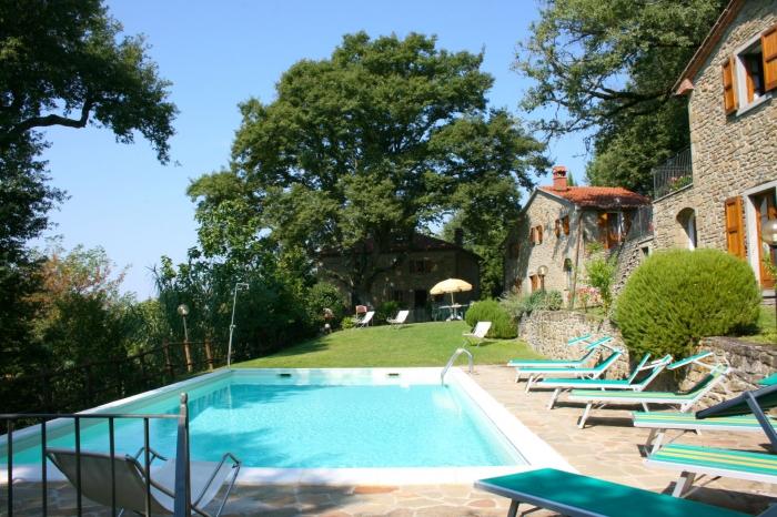 Villa / Haus La Camposa zu vermieten in Castiglion Fiorentino
