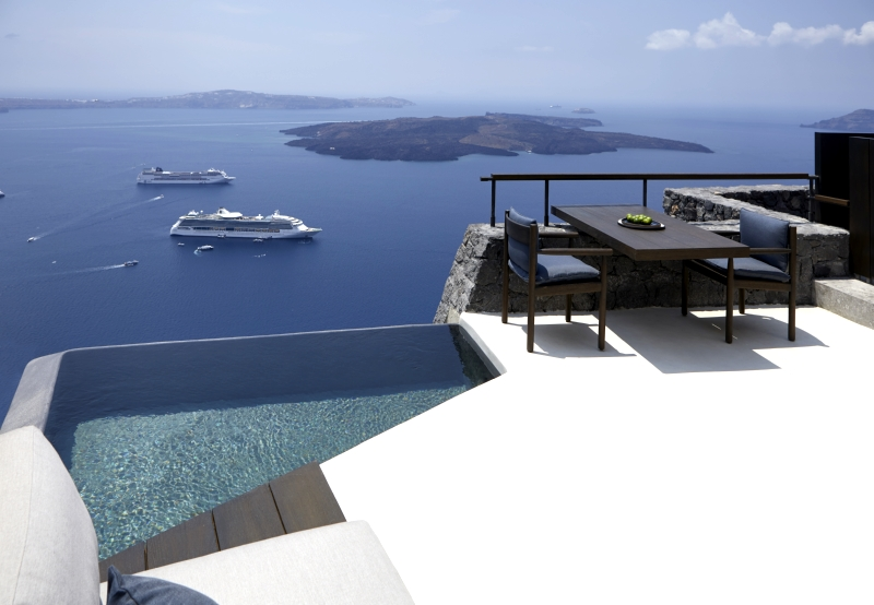 Villa / house Ro to rent in Santorini
