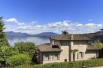 Villa / haus bellevue  zu vermieten in meina - lac majeur