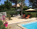 Villa / house A pied de la plage et golf to rent in Grimaud