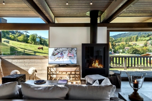 Chalet amalthea to rent in megève