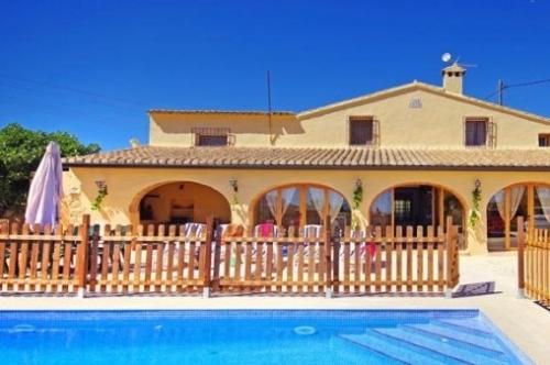 Villa / Maison Ancla à louer à Benissa