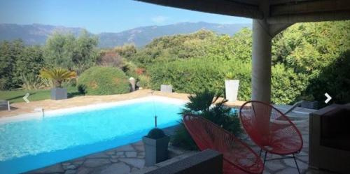 Villa / maison marinette à louer à porto vecchio