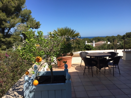 Villa à Javea, Vue : Campagne et mer