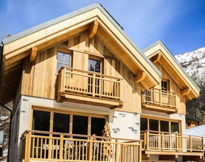 Chalet Johnson to rent in Valloire