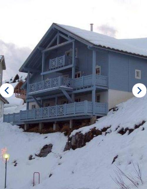 Chalet le grand bleu-sauna