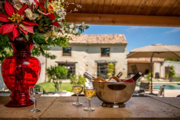 Villa / house Mas avec spa en Provence to rent in Montélimar