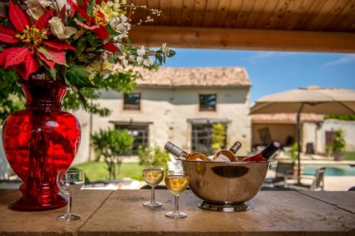 France : MON1401 - Mas avec spa en Provence