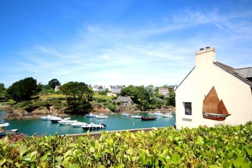 Villa / maison port doëlan à louer à clohars carnoet