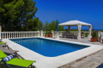 Villa in Javea, View : Countryside and sea