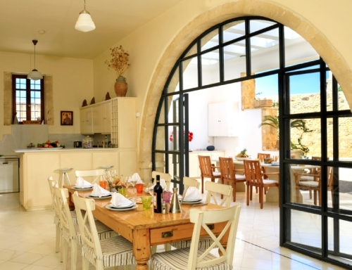 Holiday in exceptional villa : crete
