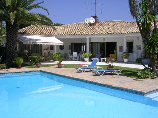 Location villa marbella 6 personnes hab603 for Location villa espagne avec piscine privee pas cher