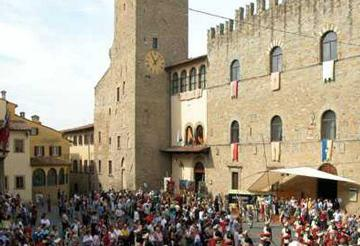 Arezzo villas
