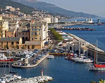 Bastia villas